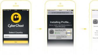 CyberGhost iOS 6
