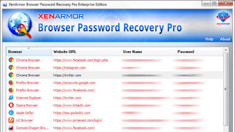 XenArmor Browser Password Recovery Pro Personal Edition
