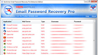 XenArmor Email Password Recovery Pro 2019