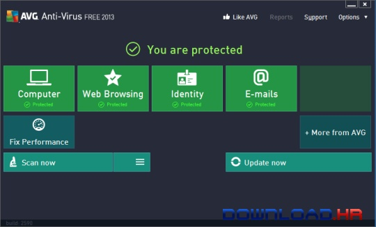 AVG AntiVirus FREE  Featured Image for Version