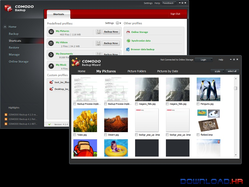 Comodo Backup  Featured Image for Version