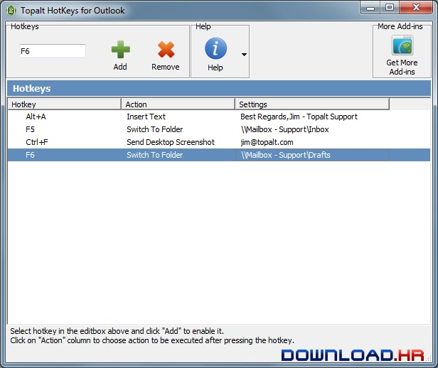 Topalt Hotkeys for Outlook  Featured Image for Version