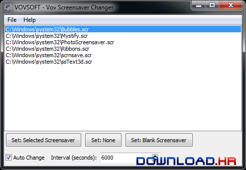 Vov Screensaver Changer  Featured Image for Version
